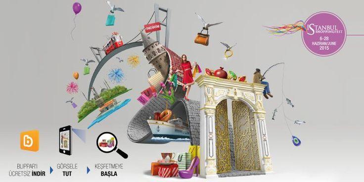 Blippar ile sürprizleri yakalamak için; #istshopfest görselini taratıp, quizi çözün! #şehrinengüzelzamanı