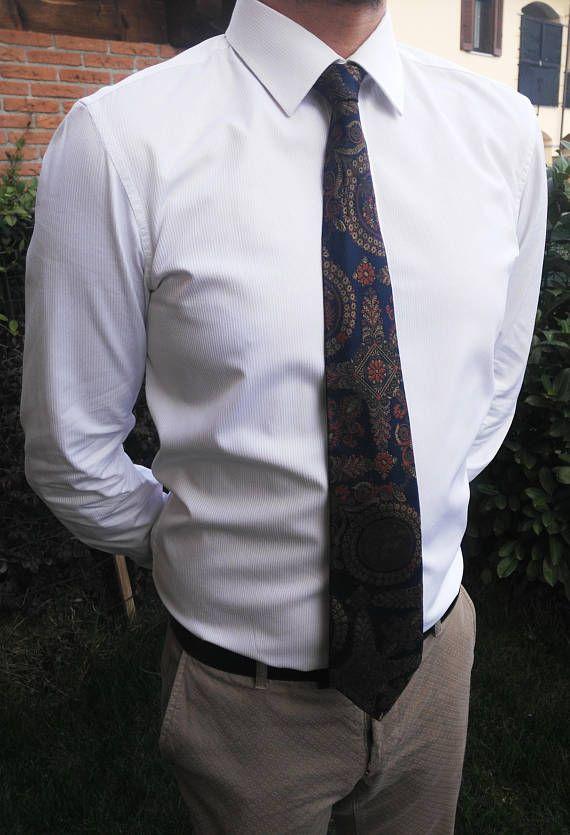Gianfranco Ferré vintage silk tie