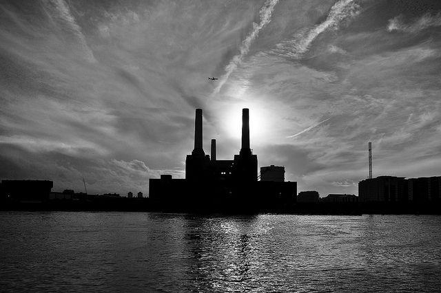 Battersea Power Station.
