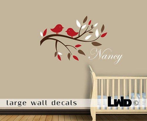 Best Baby Girl Nursery Images On Pinterest Girl Nursery Wall - Custom vinyl wall decals for nursery