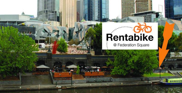 Rentabike bike hire in Melbourne Australia