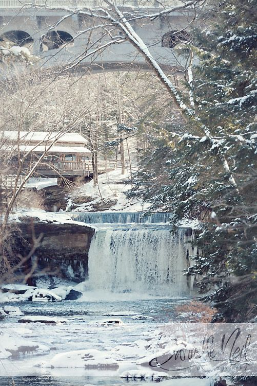 Lanterman's Falls At Mill Creek Park In Youngstown, Ohio.  Danielle Neil Photography