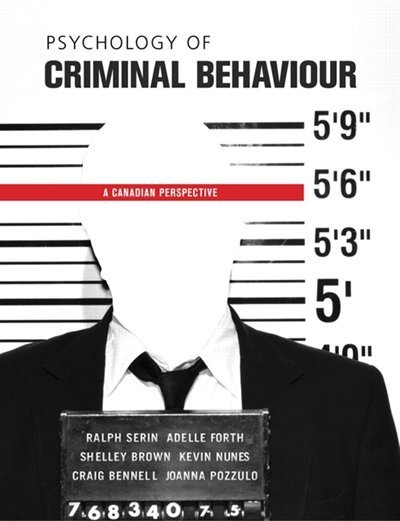 how to become a criminal psychologist in canada