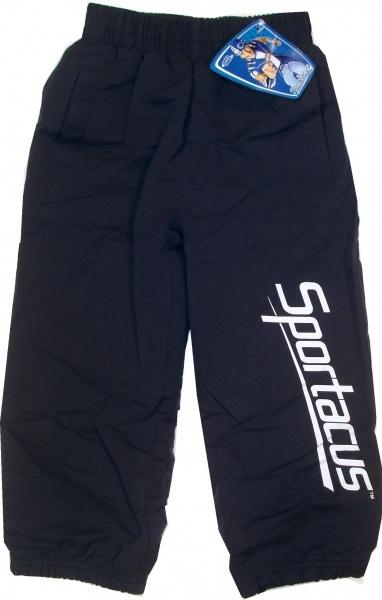 Pantalon oficial Lazy Town cu Sportacus, 65% poliester, 35% bumbac.