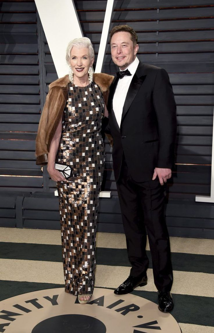 Like Lin-Manuel Miranda and Dev Patel before him, Elon Musk knows sometimes the best date on Oscar night is the woman who raised you.  Musk brought his 68-year-old former supermodel mother Maye to the Vanity Fair Oscar party.  Or perhaps Maye brought Elon?