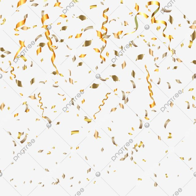 Gold Confetti On A Transparent Background Glitter Confetti Sparkle Png And Vector With Transparent Background For Free Download Sparkle Png Transparent Background Gold Confetti