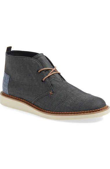 TOMS 'Mateo' Chukka Boot (Men). #toms #shoes #boots