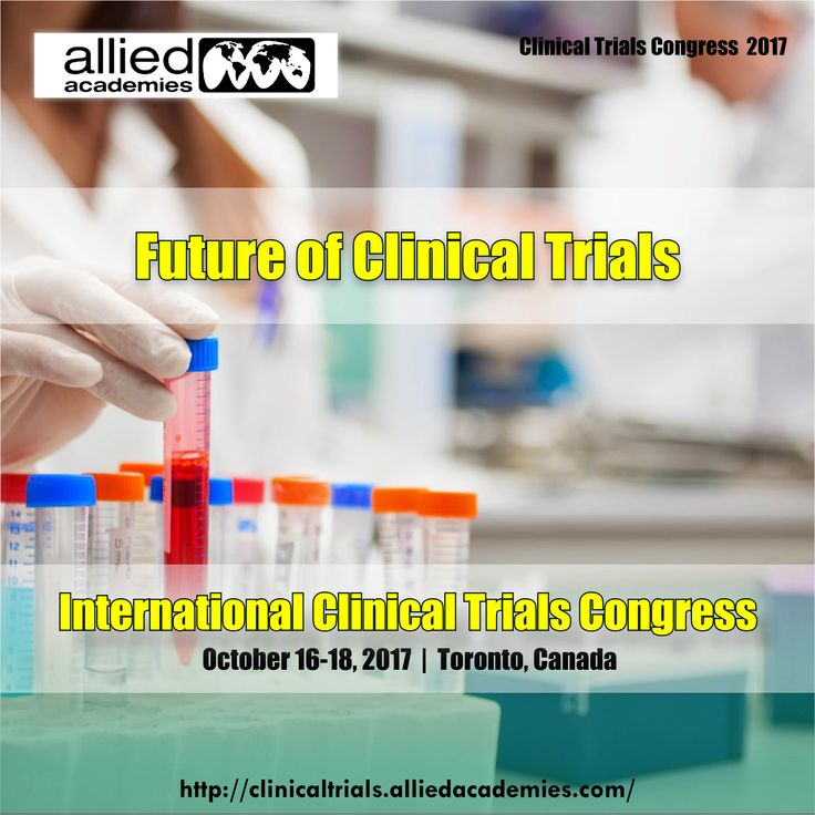 Future of Clinical Trials The future of clinical trials illustrated as follows. Access and engage the patient online – Attract patients to the trial – Consent patients & convert to subjects – Remotely manage subjects & collect data.