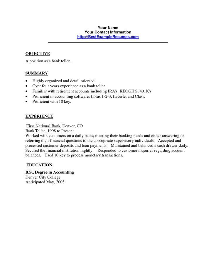 cover letter commercial banking internship teller resume bank tips - cover letter for bank teller