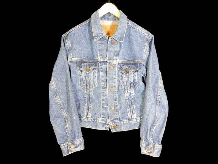 Vintage Levis Jean Jacket - Small - Trucker Jacket - Levi's Denim Jacket - Vintage Clothing - 90s Grunge - by BLACKMAGIKA on Etsy