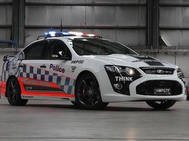The Ford Falcon GT-F is Australia's most powerful and most technically advanced police car.