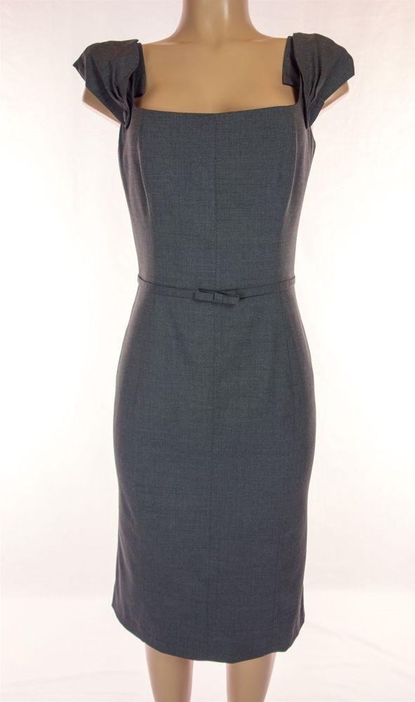 TARA JARMON New Dress Size 40 M Brushed Gray Tailored Classic Work NWOT #TaraJarmon #Shift #WeartoWork
