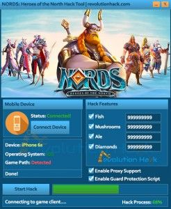 Download NORDS: Heroes of the North Hack Tool
