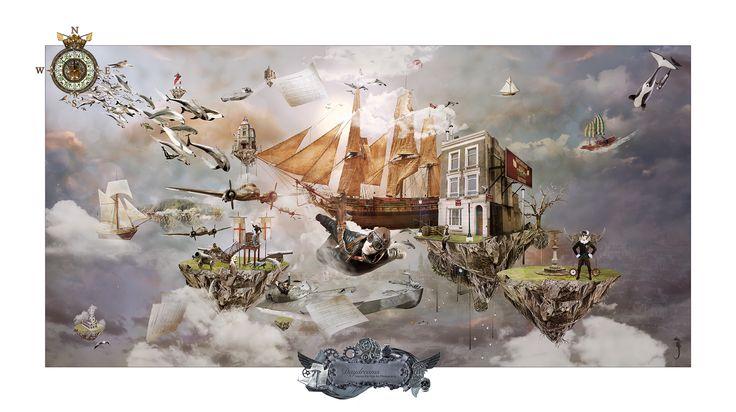 Daydreams - Escape, new fantasy series by Marius Els Fine Art Photography