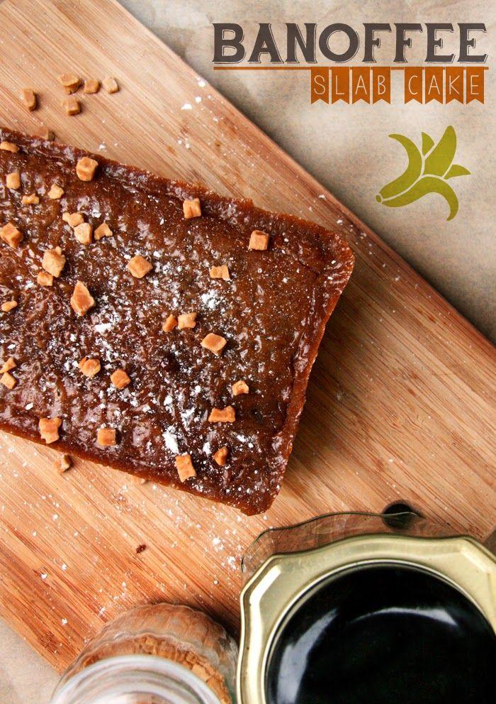 Banoffee Slab Cake | Fork and Good.
