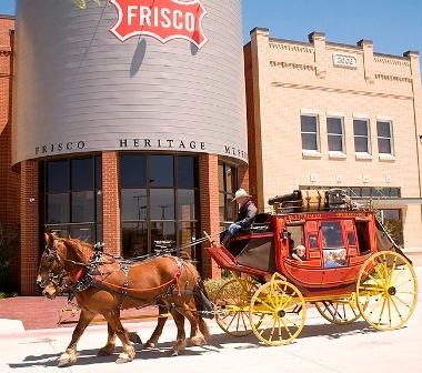 Frisco Heritage Museum & Frisco Junction - Frisco, Texas - Railroads, History, Living Village