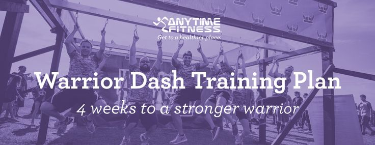 Anyone can be a warrior. But you may want to train! Here's how, with four weeks of specially designed workouts to prepare you for the muddy, fun Warrior Dash adventure.