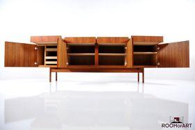 Teak Wooden Sideboard by Ib Kofod-Larsen.    http://www.room-of-art.de/products/new-arrivals/teak-wooden-sideboard-by-ib-kofod-larsen-446/