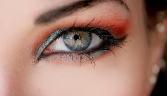 Halloween Eye Make-up
