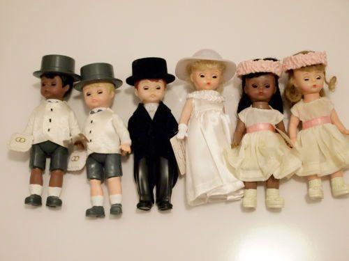 Mcdonalds-madame-alexander-6-x-mariage-poupees-pour-gateaux-et-mariage-display