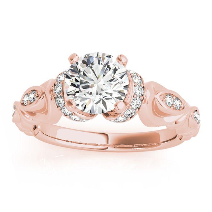 Transcendent Brilliance 14k Gold 7/ 8ct TDW Diamond Victorian-style Engagement Ring (F-G, VS1-VS2) (