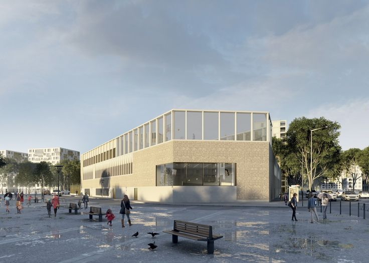 BAMAA - Architectes Associés - Architecture - school - Lyon