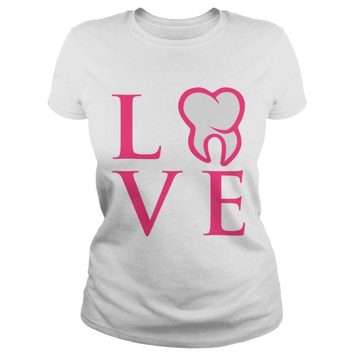 Dental Love! Perfect dental shirt for any dental hygienist or dental assistant #dental #dentalshirt #dentalhumor