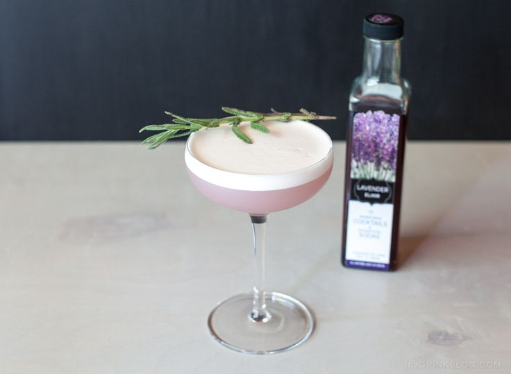 Lavender pisco sour--possibly a bastardization of my favorite drink, but also possibly a really really good twist.
