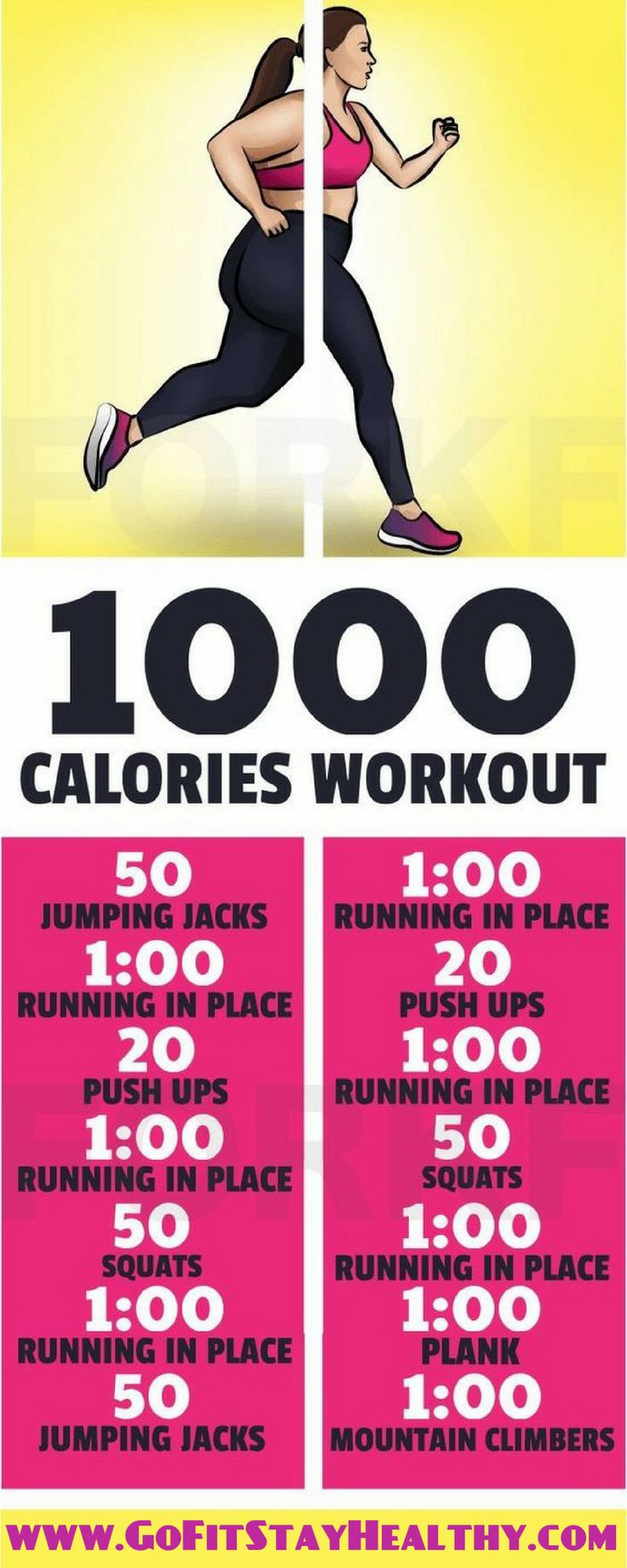 1000-Calorie Workout To Lose 10 Pounds In 10 Days