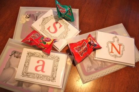 Will you be my bridesmaid letters