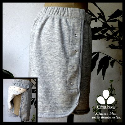 Short con aberturas en costados. Facilidad para vestirte o ser vestido, estilo y comodidad. Encuentra más en www.costubiva.com