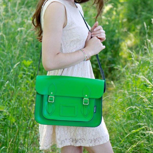 Zatchels-Classic-Green