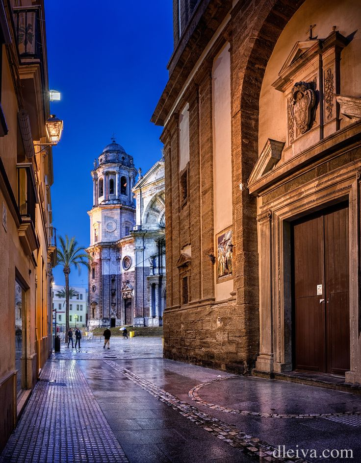 """Cadiz Cathedral, Andalusia, Spain - Cathedral of Cadiz, Andalusia, Spain <a href=""""http://dleiva.com/"""">dleiva.com/</a>"""