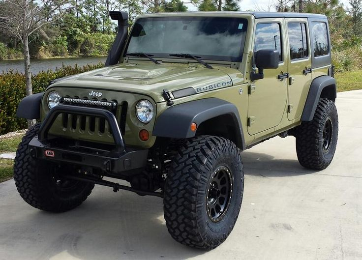 """Tank Green Jeep Wrangler >> 23 best images about 3.5"""" Lift with 37"""" Tires on Pinterest 