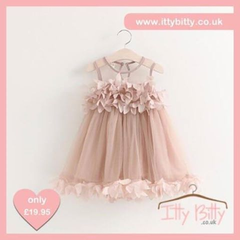 HOT item back in stock - Itty Bitty Princess Petal Party Dress  VIEW MORE: https://www.ittybitty.co.uk/product/itty-bitty-princess-petal-party-dress/?utm_content=buffer20f95&utm_medium=social&utm_source=pinterest.com&utm_campaign=buffer #party #dress #cakesmash #birthday