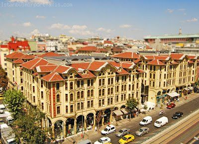 Airport Transfer for the Crowne Plaza Istanbul Old City