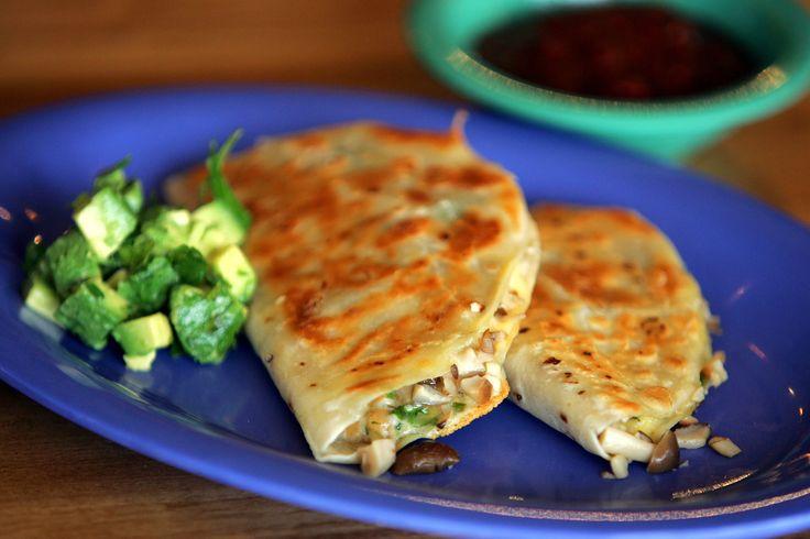 Wild Mushroom Quesadillas Recipe - NYT Cooking