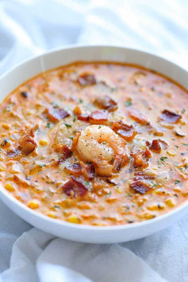 recipe: corn and shrimp soup recipe easy [23]