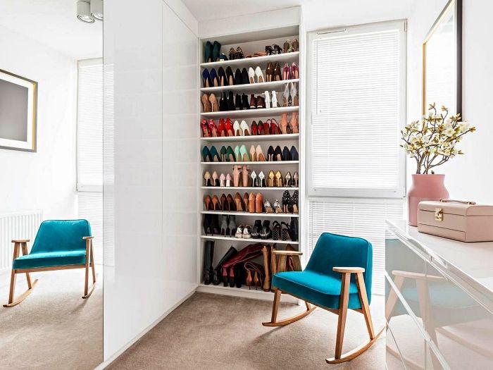 1001 Idees Pour Amenager Un Dressing A Chaussures Avec