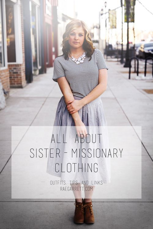 Sister missionary clothing