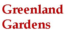 Thank you to Greenland Gardens a valued sponsor of our Supper from the Field menu.