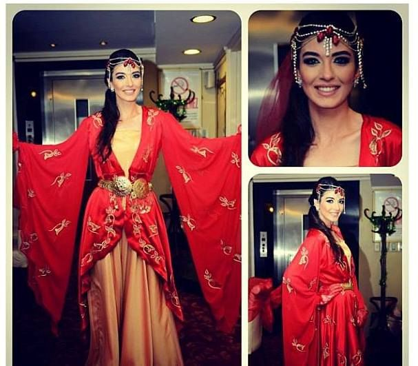 Turkish traditional henna night dress for bride