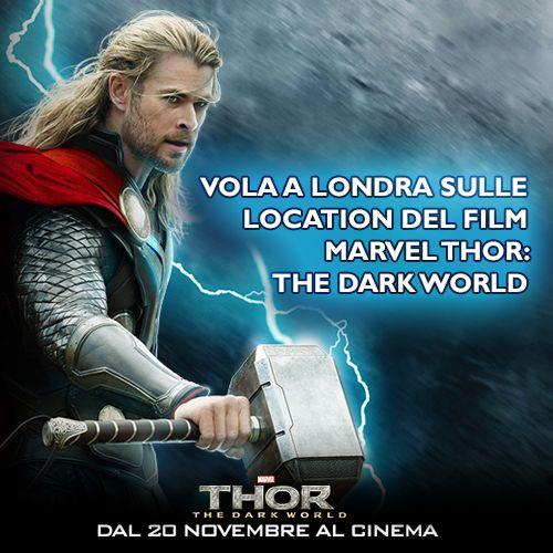 Tutti a Londra per visitare le location del film #Thor e gadget unici per diventare  dio del tuono! Solo con #TIMYoung #6protagonista! http://cinema.timyoung.it/