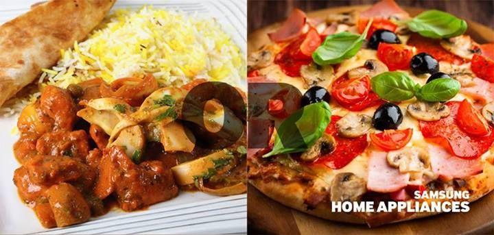 Mmm, mâncare indiană sau italiană? Deci, pe care o preferați?