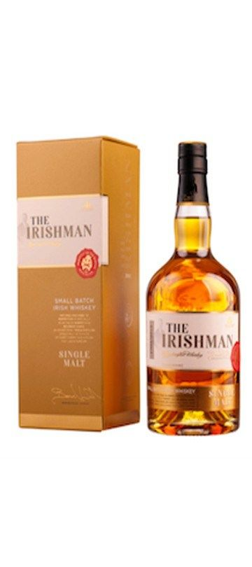 10% OFF for 6 or more bottles – automatically deducted at CHECKOUT   Country of Origin: Ireland The Irishman Single Malt is one of only a handful of Irish triple distilled single malts on the market. This is a classic Irish Malt, triple distilled and aged in Bourbon and Sherry Casks.