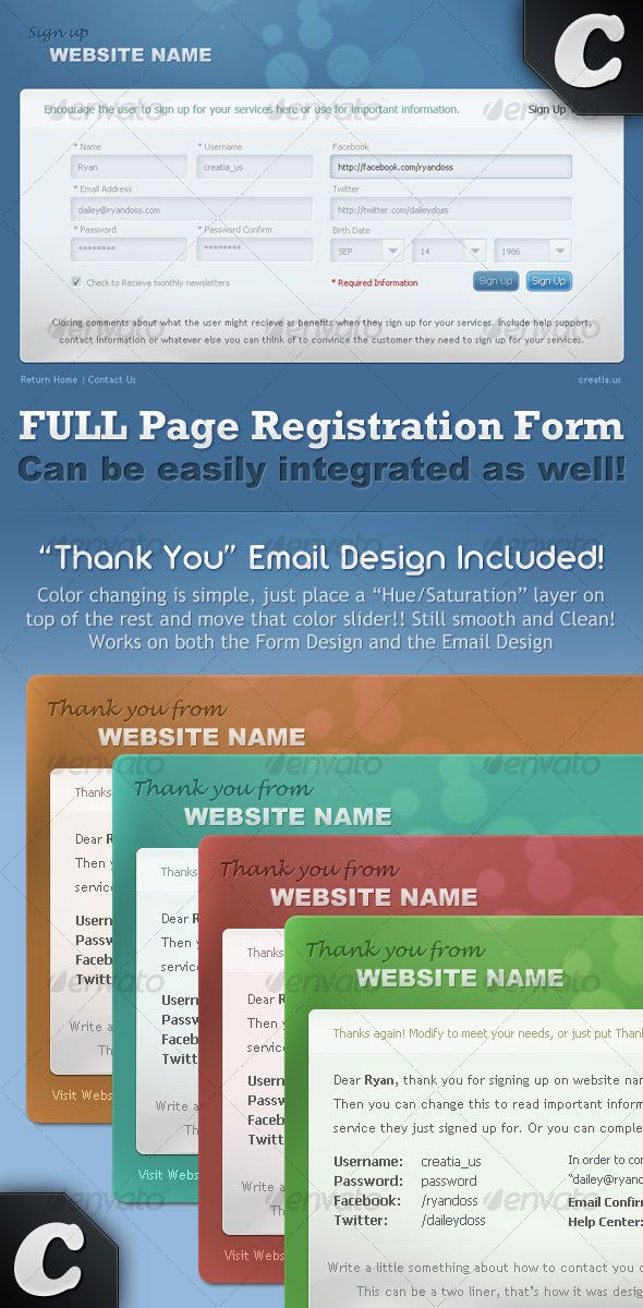 The 25 best images about Best Forms Templates on Pinterest - new customer registration form template