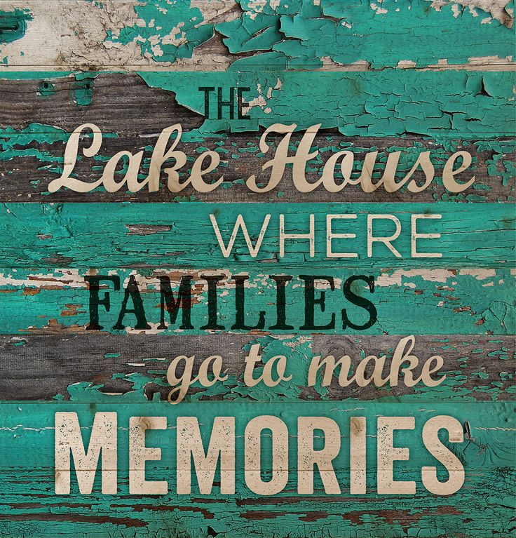 """Wall sign, perfect for your lake house and cabin decor. - measures 11.5"""" x 12"""" - rustic, weathered designs - canvas made from lath-thin, narrow strips of wood - sawtooth hanger included"""