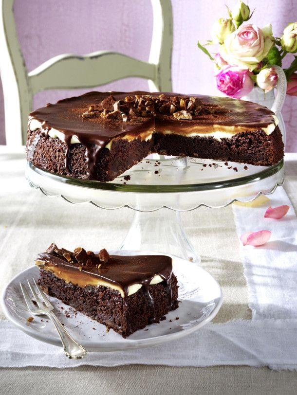 Unser beliebtes Rezept für Brownie-Krokant-Tarte und mehr als 55.000 weitere kostenlose Rezepte auf LECKER.de.