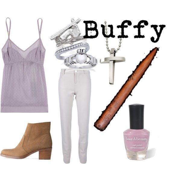 Buffy-inspired outfit, blog entry found here: http://notsowittywitterings.blogspot.com/2012/11/buffy-vampire-slayer.html