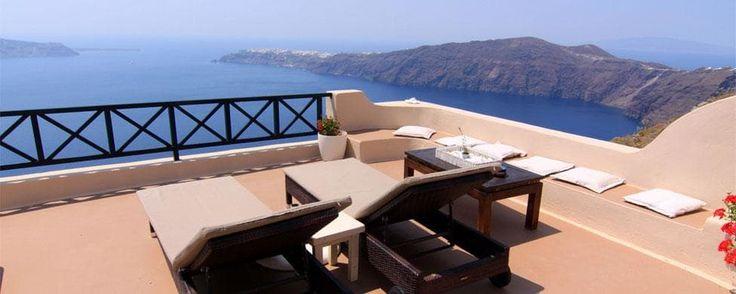 Afroessa hotel, Santorini, Greece